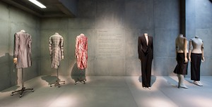 2. Installation view of 'Savage Mind' gallery, Alexander McQueen Savage Beauty at the V&A (c) Victoria and Albert Museum London