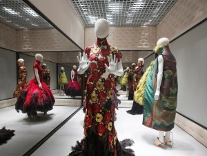 8. Installation view of 'Voss', Alexander McQueen Savage Beauty at the V&A (c) Victoria and Albert Museum London